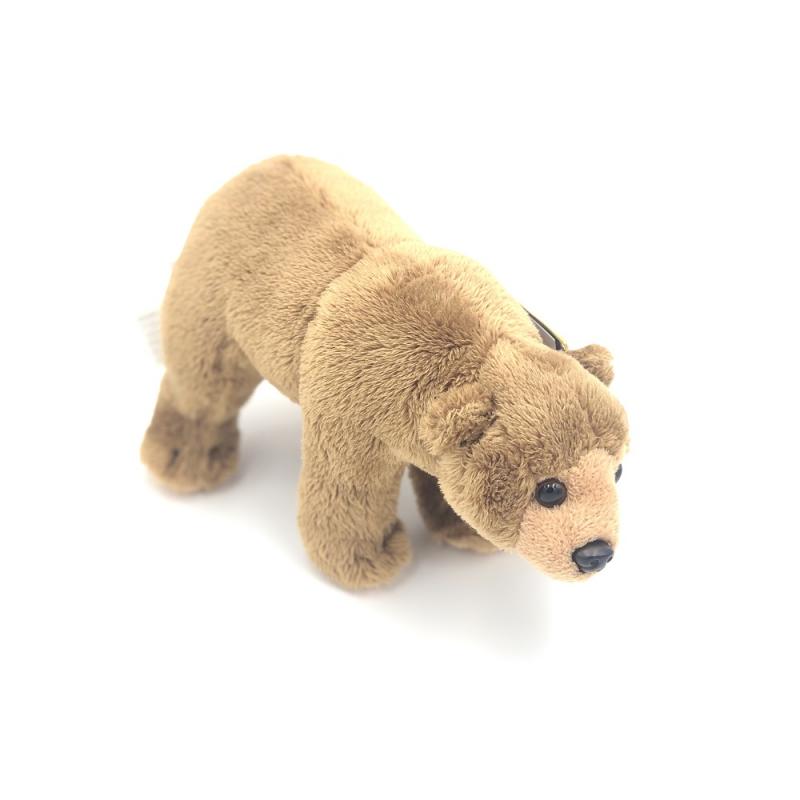 Jucarie din plus animal din America de Nord urs brun