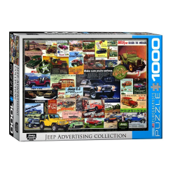Puzzle 1000 piese Jeep Advertising Collection