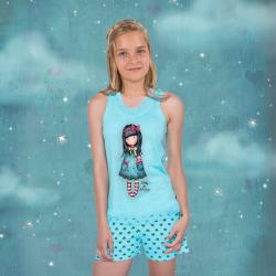 Pijama fete de vara Gorjuss model Pretty as a picture
