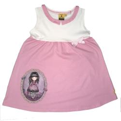 Rochie roz cu alb copii Gorjuss Sugar and Spice