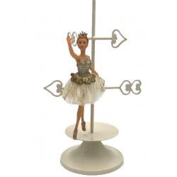 Figurina balerina dansand aurie