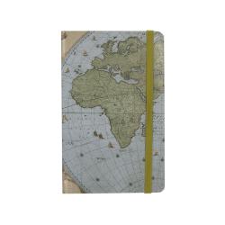 Carnet notite A6 harta