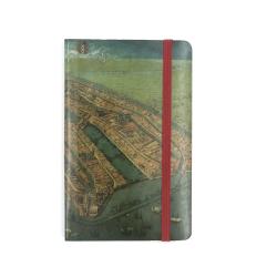 Carnet notite Harta Amesterdamului