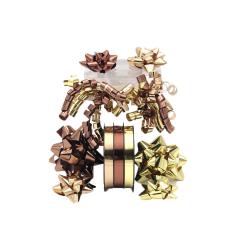 Set accesorii impachetat panglica & funde - mixt, funde panglica si pom-pom | pret 12.14 lei