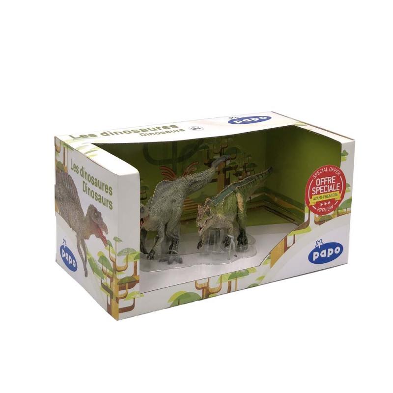 Figurina Papo - Set 2 dinozauri in cutie