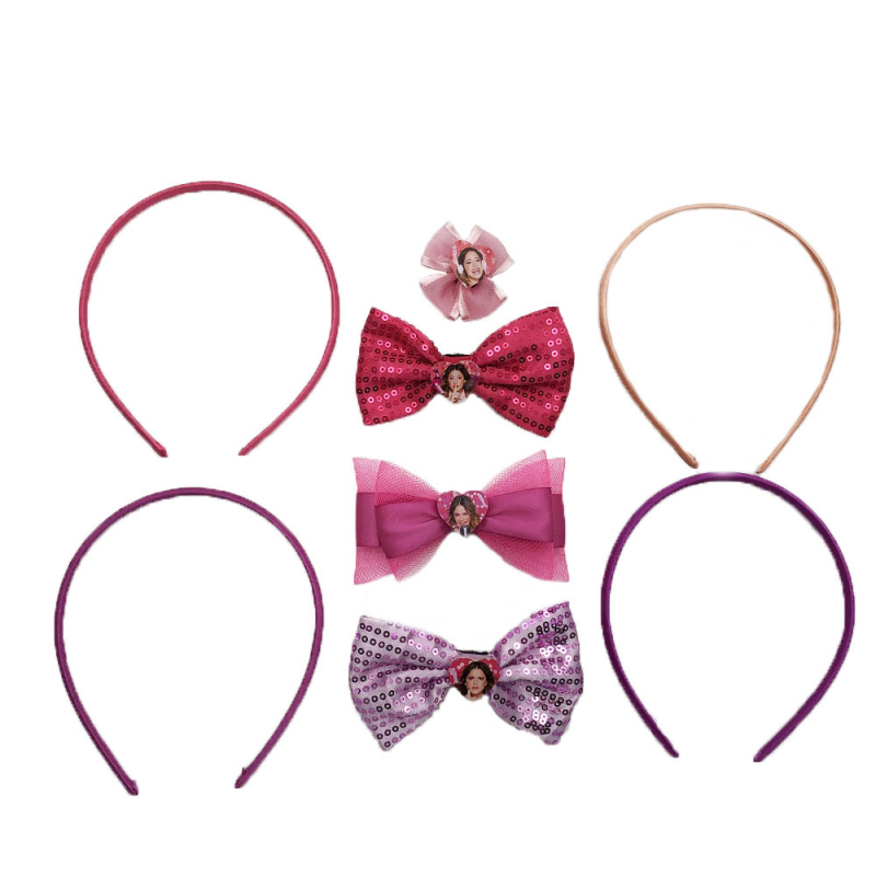 Set 4 bentite Violetta Disney