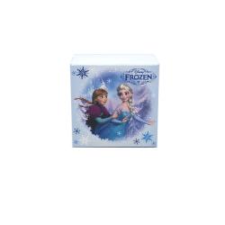 Ambalaj - Set ceas de mana analogic bleu si colier Frozen Disney