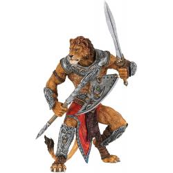 Figurina papo - personificarea tigrului prin imaginarea unui mutant superb lucrat