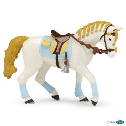 Cal de echitatie bleu - Figurina Papo