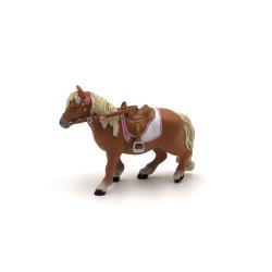 Figurina Papo-Ponei Shetland cu sa