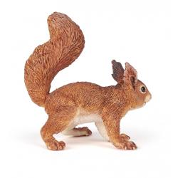 Hai sa vedem cum arata o veverita. Papo prion aceasta figurina ajuta copii sa studieze aceasta mica rozatoare
