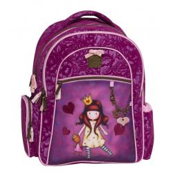 Ghiozdan scoala compatimentat Gorjuss Princess