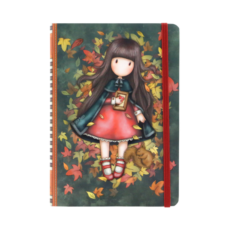 Agenda coperti tari Gorjuss-Autumn Leaves