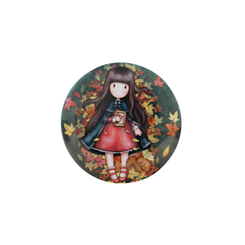 Cutie metalica decorativa Gorjuss-Autumn Leaves