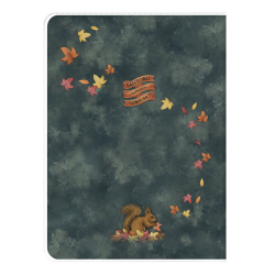 Spate Caiet A4 cu coperta Gorjuss-Autumn Leaves