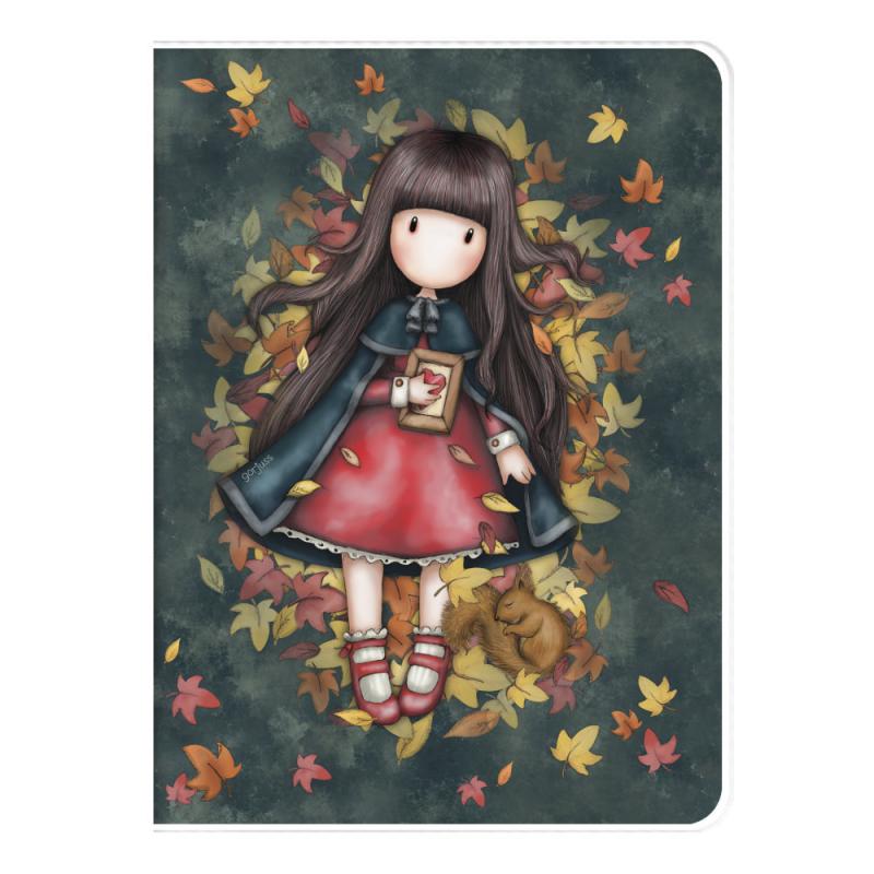 Caiet A4 cu coperta Gorjuss-Autumn Leaves