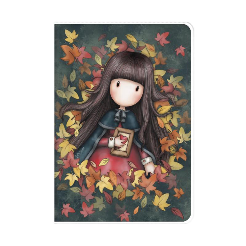Caiet A5 cu coperta Gorjuss-Autumn Leaves