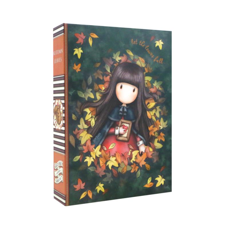 Fata Clip pad cu rechizite Gorjuss-Autumn Leaves
