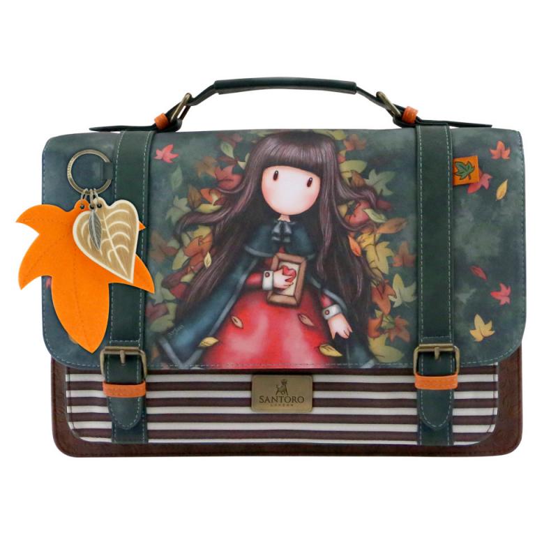 Geanta cu catarame Gorjuss-Autumn Leaves- importator
