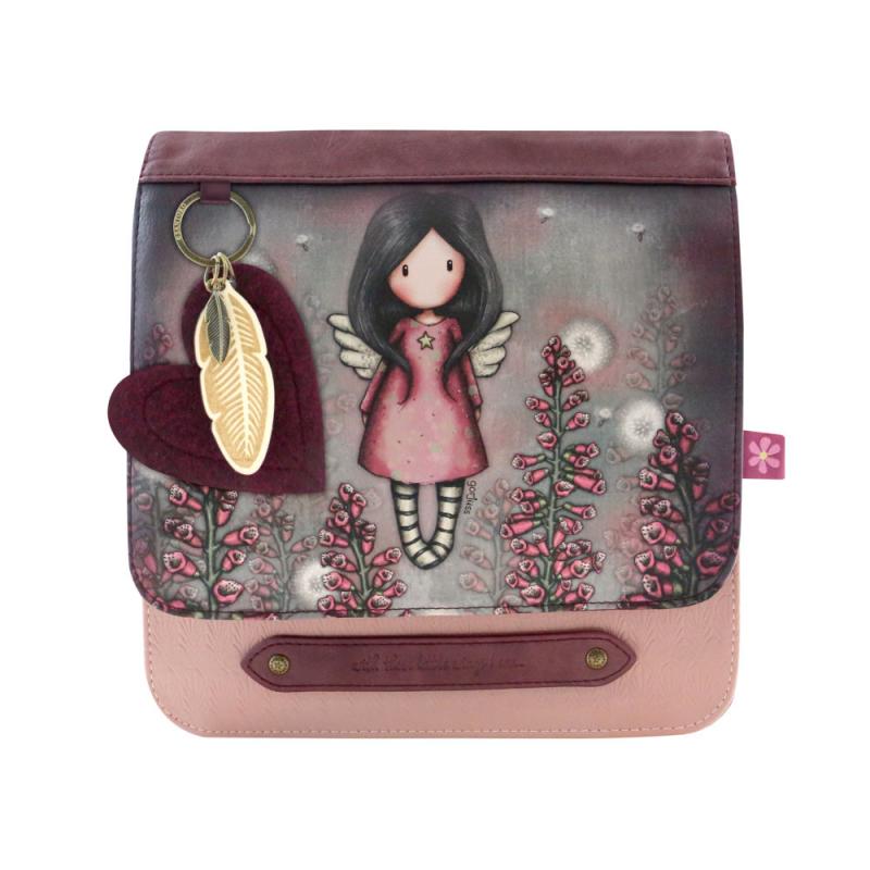 Geanta fashion cu clapeta Gorjuss-Little Wings - importator