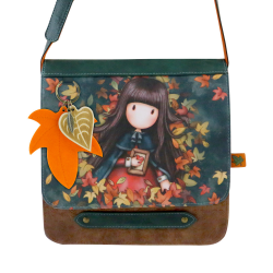 Geanta fashion cu clapeta si barete Gorjuss-Autumn Leaves