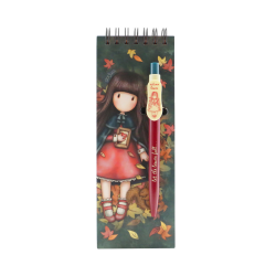 Carnet cu pix Gorjuss-Autumn Leaves