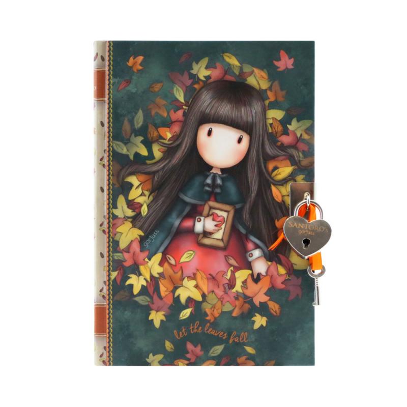 Jurnal cu cheita Gorjuss-Autumn Leaves