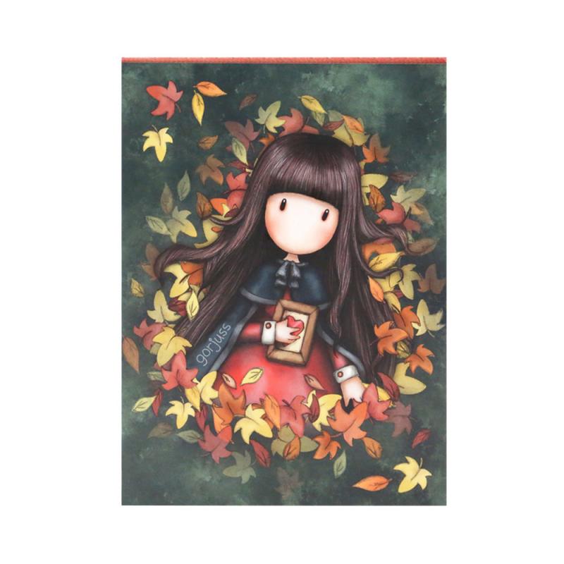 Bloc notes Gorjuss-Autumn Leaves