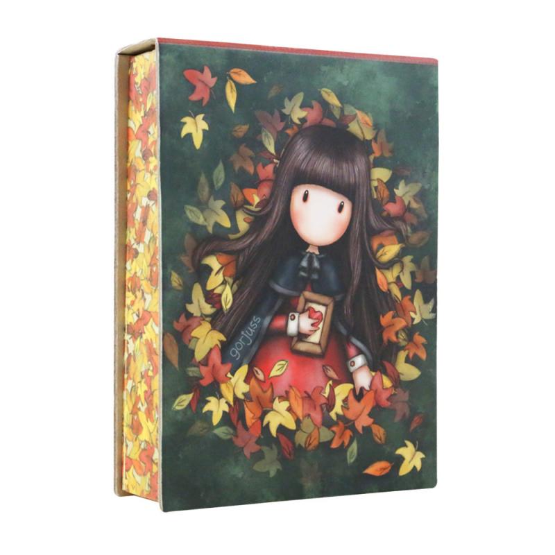 Ansamblu Bloc notes Gorjuss-Autumn Leaves