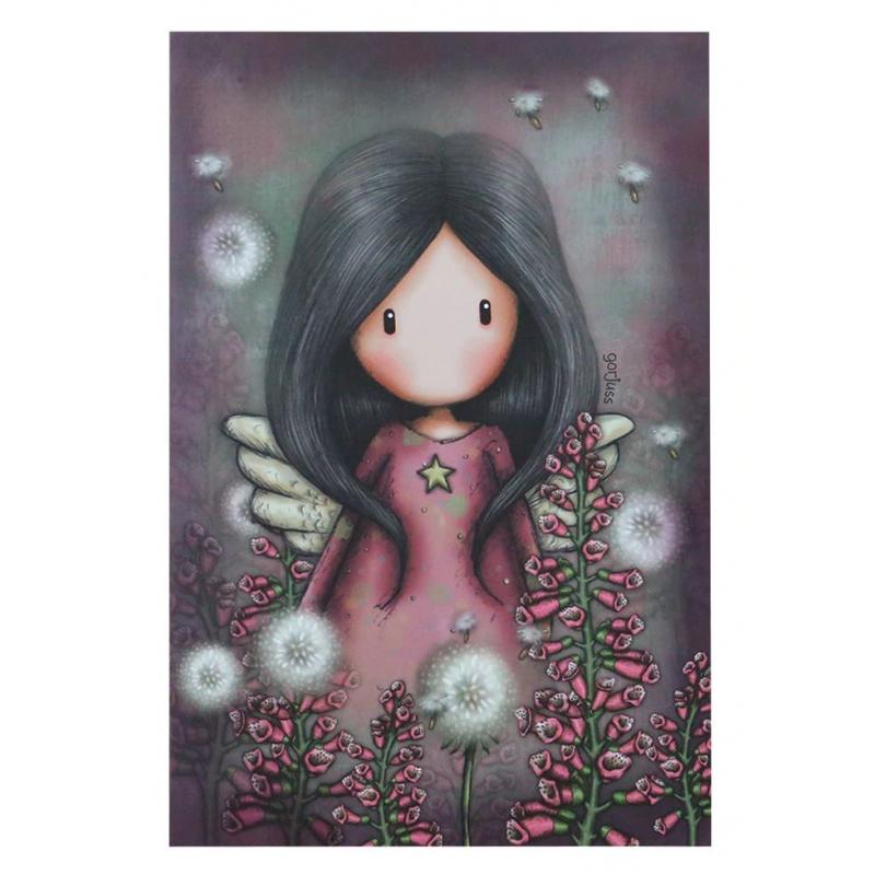 Set papetarie Gorjuss-Little Wings-jurnal de poseta