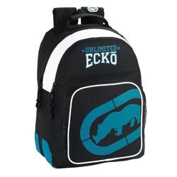 Rucsac adolescenti Ecko negru 42 cm cu troler atasat
