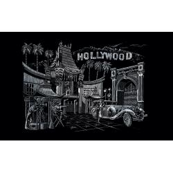 Set gravura - locuri celebre Hollywood