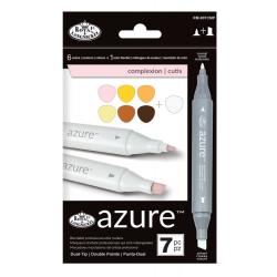 Set 7 markere Royal & Langnickel Azure Culori portrete