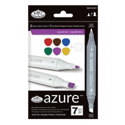 Set 7 markere Royal & Langnickel Azure Culori opulente pictura mixta