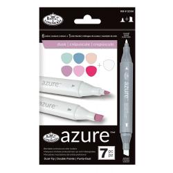 Set 7 markere Royal & Langnickel Azure Culori DUSK