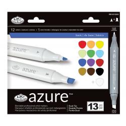 Set 13 markere Royal & Langnickel Azure Culori de baza