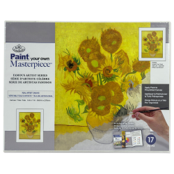 Set pictura pe panza Vincent van Gogh - Sunflower