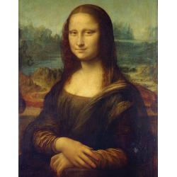 Set pictura pe panza Leonardo da Vinci - Mona Lisa