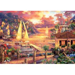 Puzzle 3000 piese - The Golden Sea pentru intreaga familie