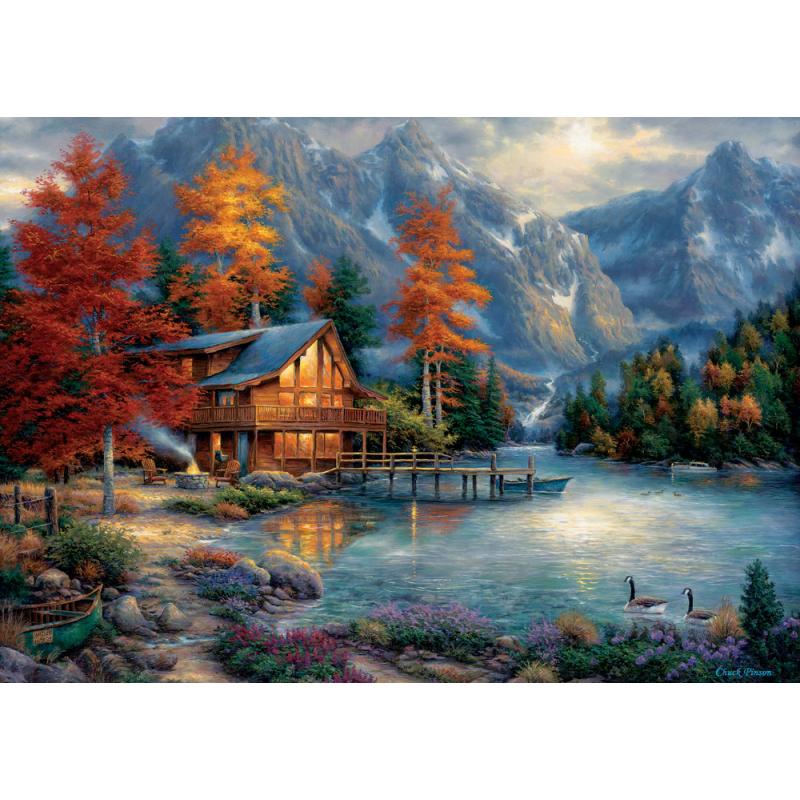 Puzzle 3000 piese Autumn Reflection pentru tine si familia ta