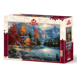 Puzzle 3000 piese Autumn Reflection importator Jad Flamande