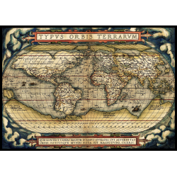 Puzzle 3000 piese The First Modern Atlas 1570 pentru toata familia