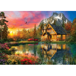 Puzzle 2000 piese Four Seasons In One Moment pentru prieteni si familie