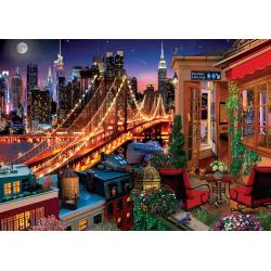 Puzzle 1500 piese Brooklyn By Terrace pentru intreaga familie