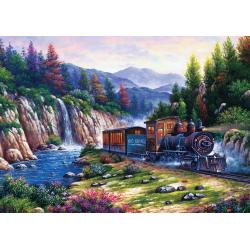 Puzzle 1000 piese - Travelling By Train-Arturo Zarraga importator