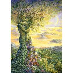 Puzzle 1000 piese Nature's Love pentru tine si prietenii tai