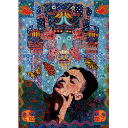 Puzzle 1000 piese Frida-Alfredo Arreguin pentru intreaga familie