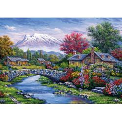 Puzzle 500 piese - Arc Bridge-Arturo Zarraga pentru cei care indragesc natura