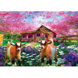 Puzzle 500 piese - When The Spring Comes-Celebrate Life Gallery pentru cei care indragesc animalele si natura
