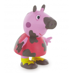 Figurina Comansi Peppa Pig on the mud